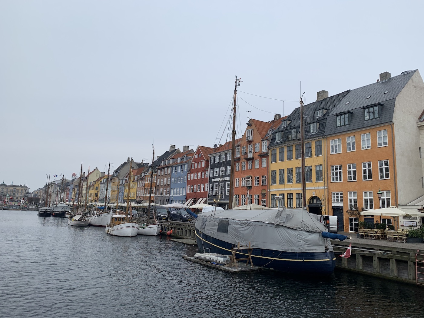 View of Nyhavn in Copenhagen